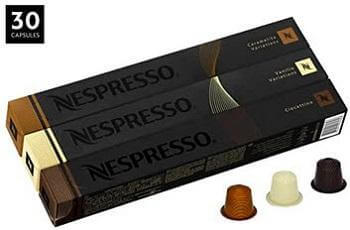 Nespresso Variety Pack OriginalLine Capsules, 30 Count Espresso Pods