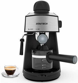 4 Espresso Machine 3.5 Bar Best 4 Cup Espresso and Cappuccino Machine