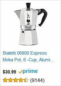 Bialetti 06800 Express Moka Pot, 6 -Cup