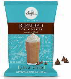 Angel Specialty Products - Blended Ice Coffee - Frappe Powder Mix - Java Chip [3 LB]