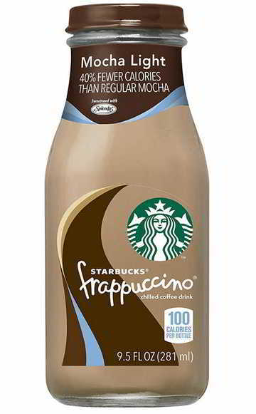 Starbucks Frappuccino, Mocha Light, 9.5 Fl Oz (15 Count)