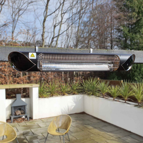 ecostrad thermaglo infrared patio heater