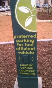 Electric Car Charger at Fresh