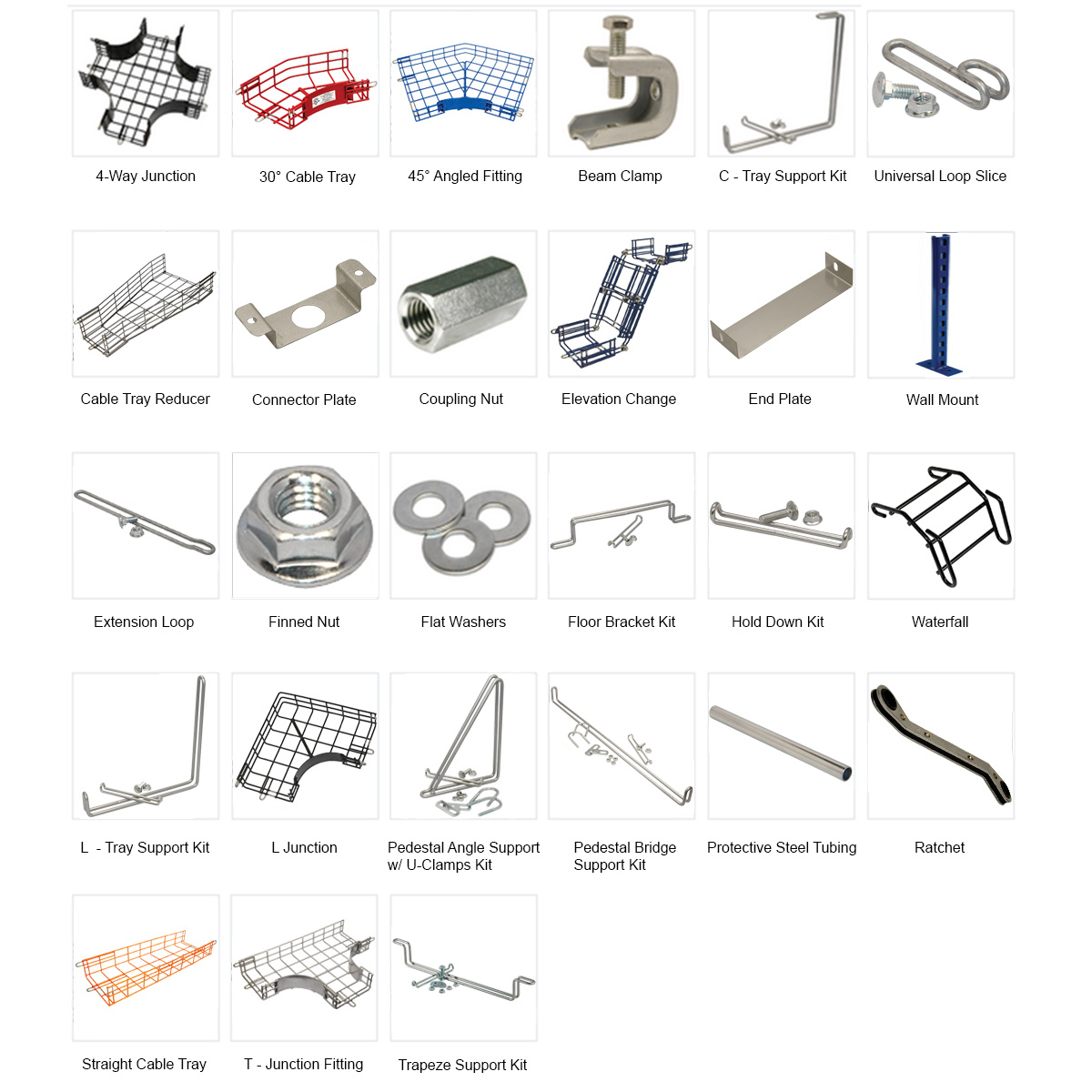 Cable Tray Accessories Catalog