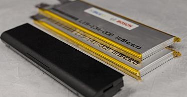 Feststoffbatterie. Foto: Bosch