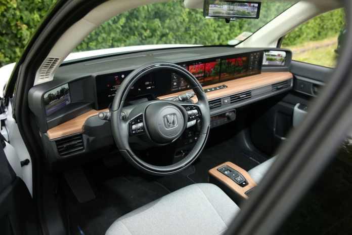 intérieur Honda e