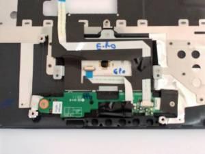Carter clavier et pad TOSHIBA SATELLITE A300-262