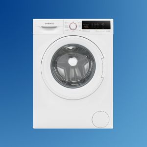lavadora daewoo blanca