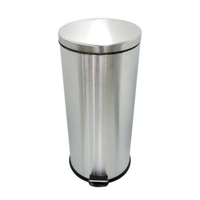 poubelle electro depot en inox avec fermeture douce 30 l