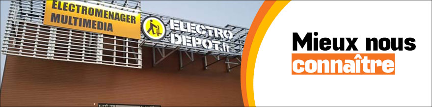 Magasin Electro Menager Cergy Val D Oise Electro Depot