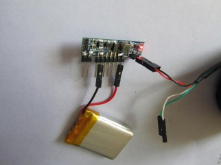 how it is charging, we use the pl2303 UART cable here for example
