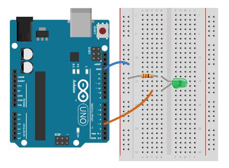 PWM - Regulação do Brilho de um LED