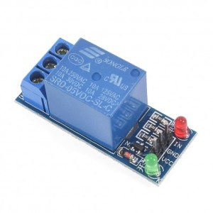modulo relay 1 canal 5vdc - Electrogeek
