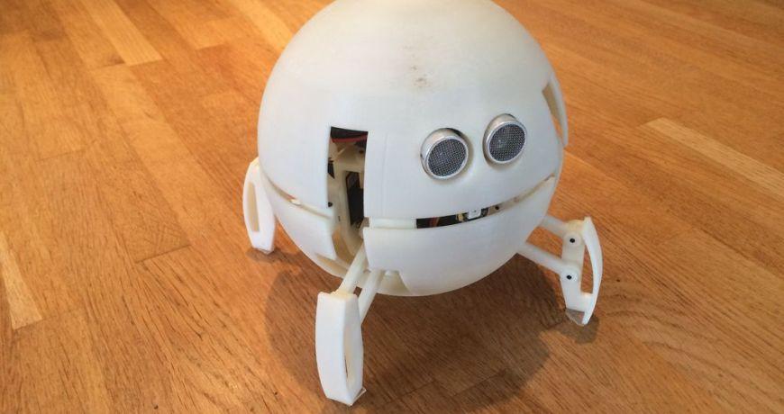 este robot parece una pelota y se transforma en cuadrupedo para moverse 5ecc646760f98 - Electrogeek