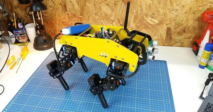 mechdog un cachorro robotico de 12 servos 5ec329d9f1f03 - Electrogeek