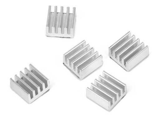 disipador aluminio kit x3 8x8x5mm arduino raspberry led D NQ NP 808858 MLA31015590390 062019 F - Electrogeek