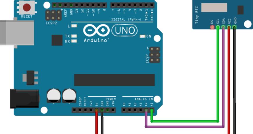 arduino tinyrtc diagrama conexion 1024x753 1 - Electrogeek