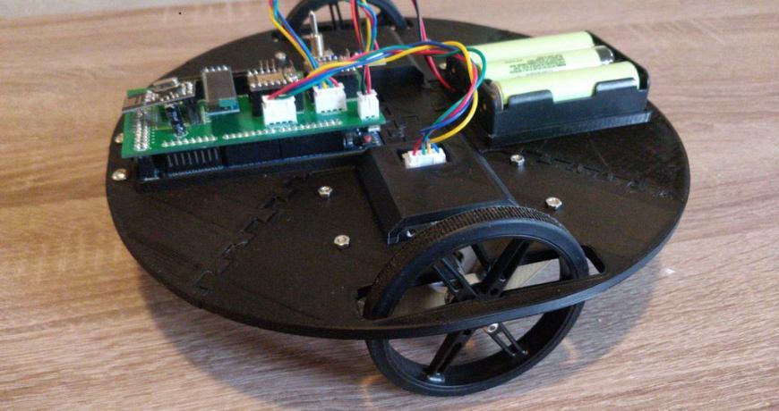 plataforma de robot movil impresa en 3d basada en arduino due 60077b212c889 - Electrogeek