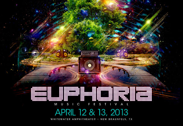 Euphoria music festival is bringing edm to texas electrojams for Euphoric house music