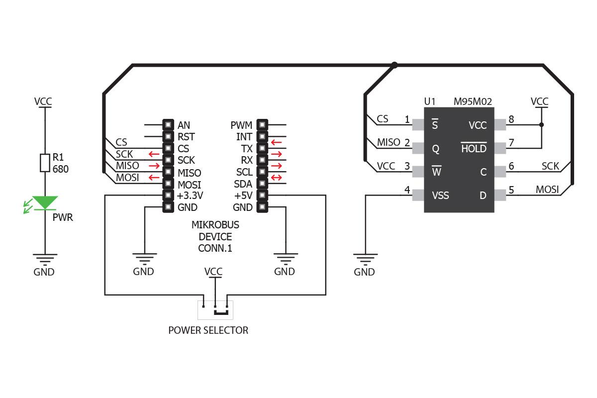 Kop Eeprom2 Click Till Ratt Pris Electrokit
