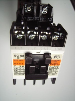 Electrical Wiring and installation of Direct On Line  DOL Contactors for Three phase and Single