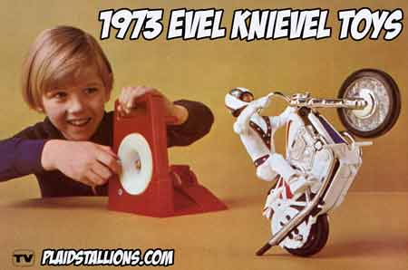 Evel Knievel, 1973 toy