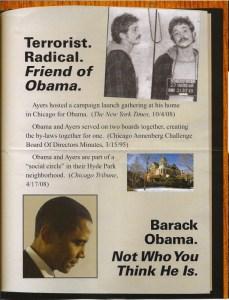 weak link between Obama & Ayers