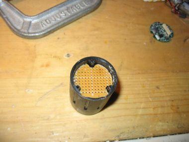 case & sensor board