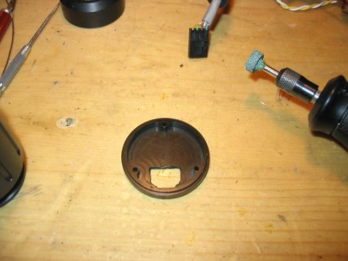 sensor case rear cap