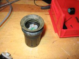 sensor unit with eye cup