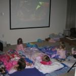 slumber party movie night