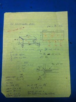 Cabinet drawing, pg1