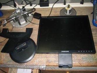 monitor & base