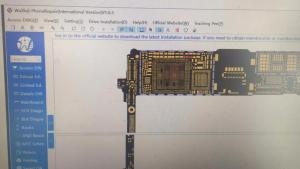 Alborado WU XIN JI DONGLE WUXINJI board schematic diagram Repairing for iPhone iPad samsung