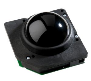 P75-Black trackball