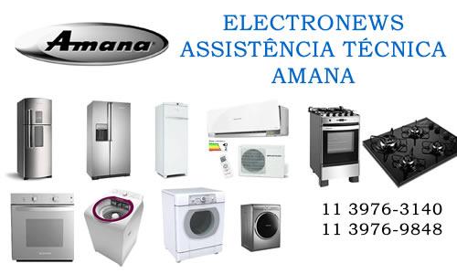 Assistência técnica Amana São Paulo