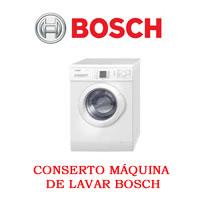 Conserto Máquina de Lavar Bosch