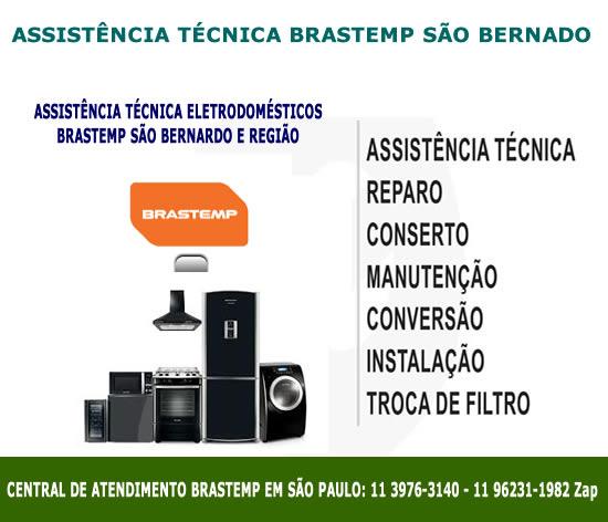 Assistência técnica Brastemp São Bernardo