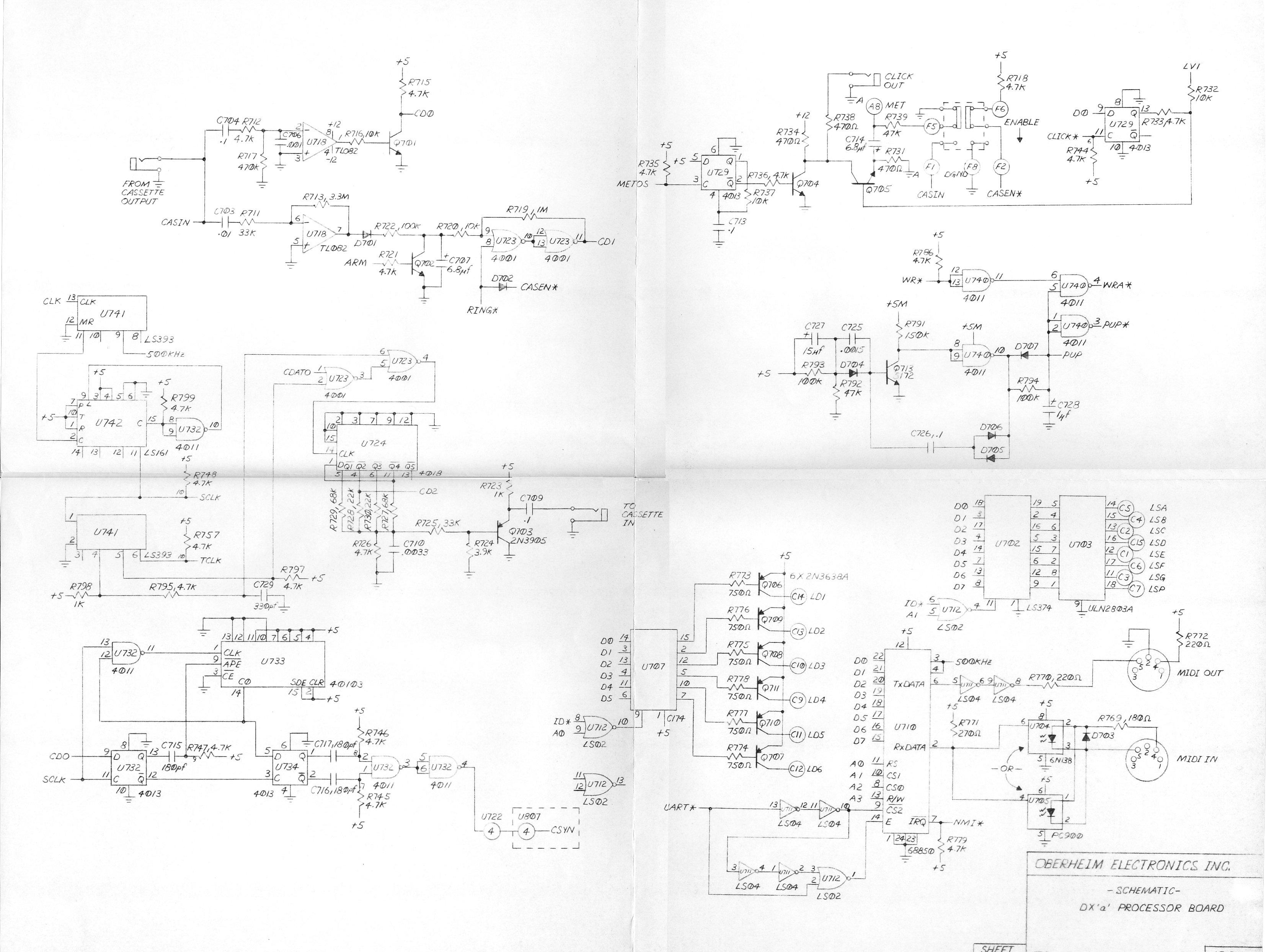 Dmx Schematic