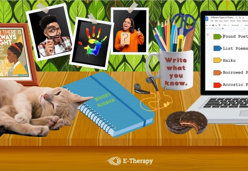 online speech therapy activities for poetry month