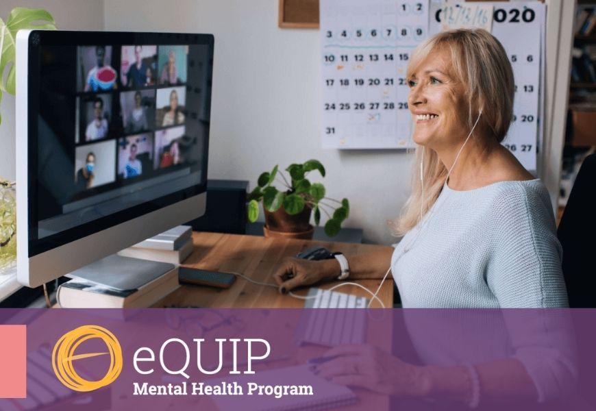 eQUIP mental health program logo