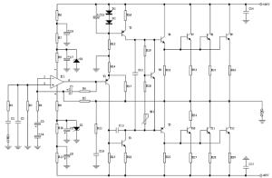 Audio Amplifier 200500W
