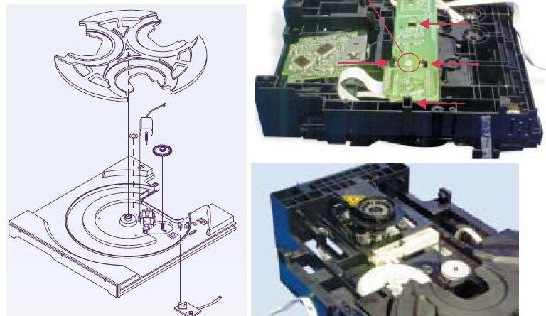 Mecanismo samsung 3CD's
