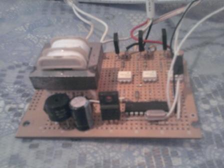 Circuito del control remoto
