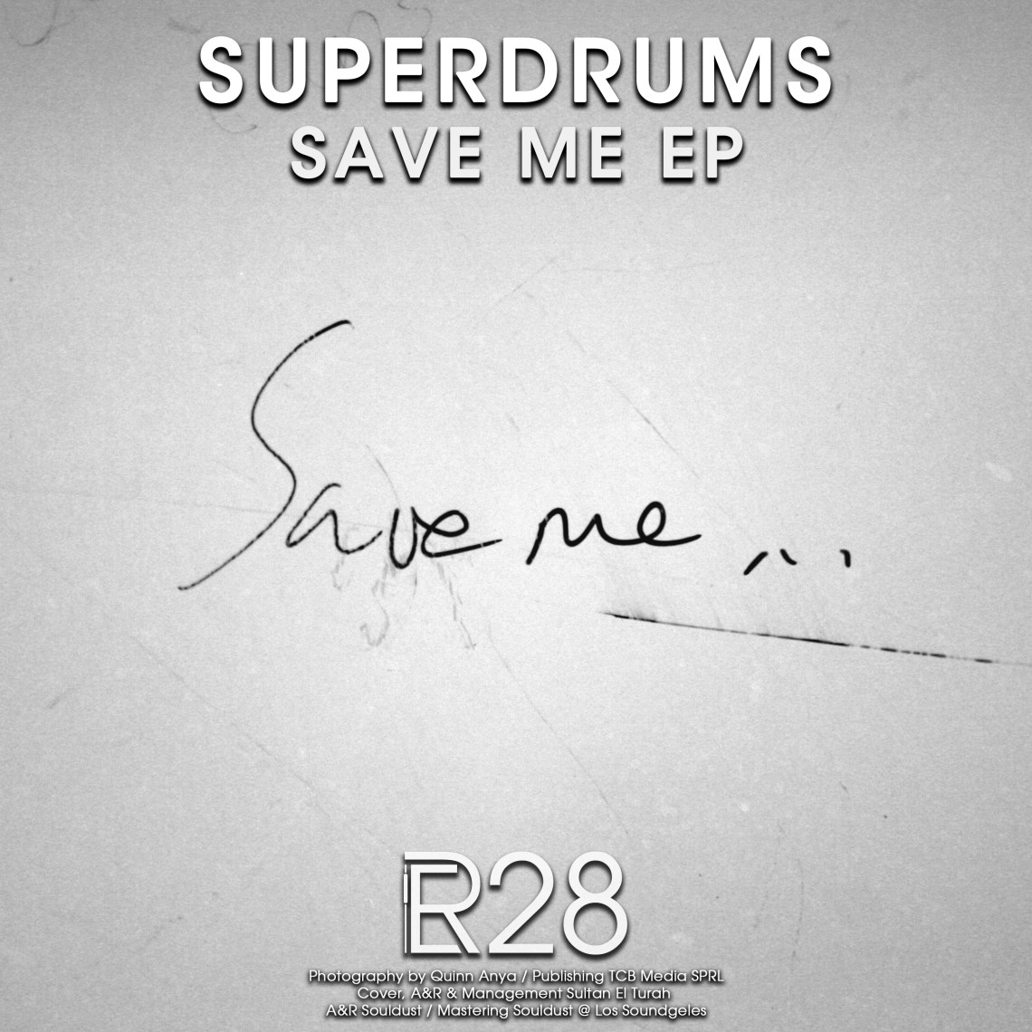 ER028 - Superdrums - Save Me (incl. Max Duke Remix) - Electronical Reeds