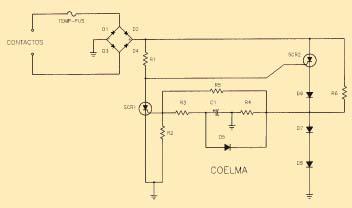 Cebador electrónico esquema