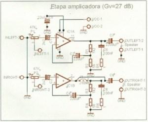 MONTAJE / Amplificador estéreo 8W RMS HiFi
