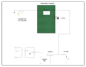 Esquema del circuito adaptador 1