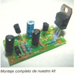 Circuito electrificador montaje