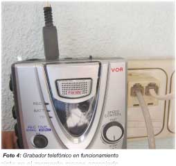 APRENDE PRACTICANDO / Grabador telefónico